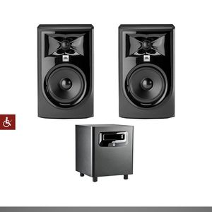 JBL studio professional speakers (with subwoofer ) for Sale in Evansville, IN