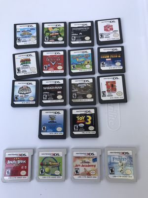 NINTENDO GAMES 14PC DS & 4PC 3DS for Sale in Costa Mesa, CA