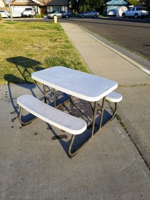 Kids folding table for Sale in Ceres, CA