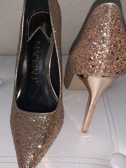 Gold Shimmer Heels for Sale in Hialeah,  FL
