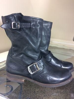 Frye boots Veronika shortie black leather for Sale in Morton, WA