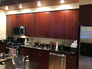 Kitchen cabinets for sale!!!! Cherry, great condition for Sale in Chicago, IL