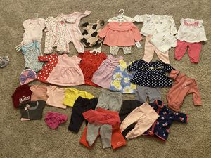 3 month baby girl clothing for Sale in Sun City, AZ