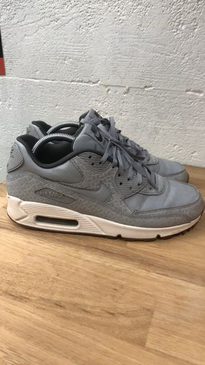 Nike Air Max 90 Premium 'Wolf Grey' Womens 9.5 for Sale in Seattle, WA