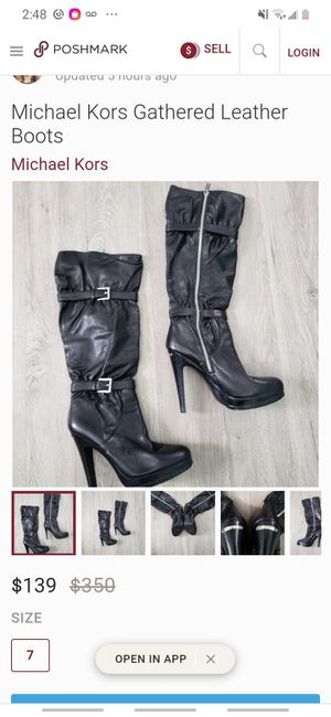 Designer purse and boots for Sale in Beaumont, TX