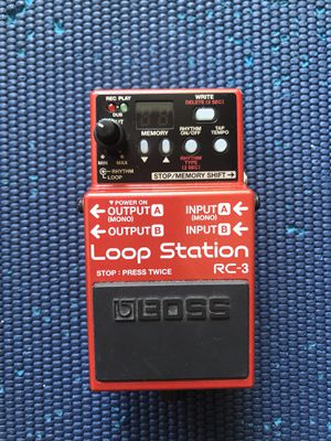Boss looper station RC3 for Sale in Los Angeles, CA