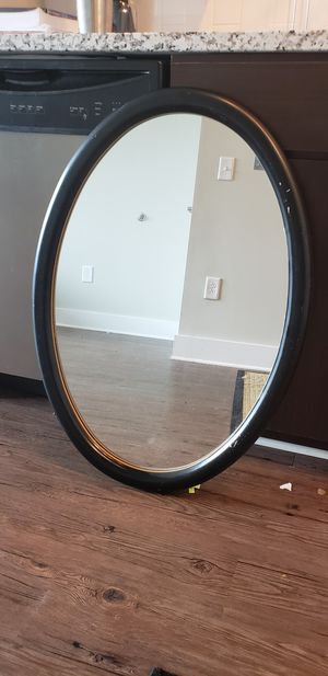 Large oval mirror- classy! for Sale in Nashville, TN