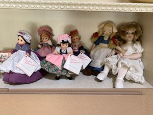 Doll collection - very good condition, some Madam Alexander for Sale in Concord, CA