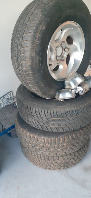 Rims and tires 15 for Sale in Tracy, CA
