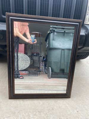 Brown Framed Mirror for Sale in Kyle, TX