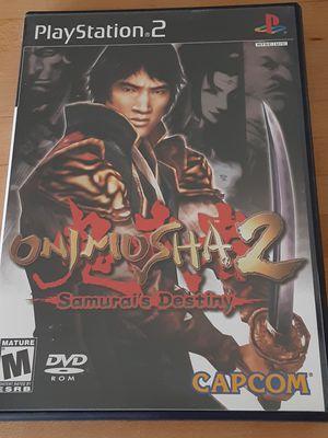 Onimusha 2 Samurai's Destiny for PS2 for Sale in Pompano Beach, FL