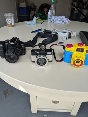 Canon Rebel and Lomography cameras + film $60 for Sale in Tampa, FL
