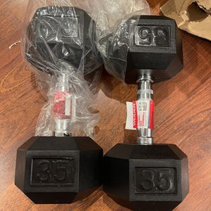 Weider Rubber Dumbbell 35 lbs Pair for Sale in Huntington Beach, CA