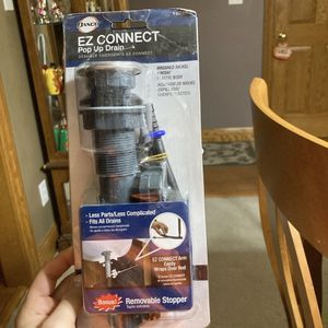 EZ Connect Pop Up Drain for Sale in Ottumwa, IA