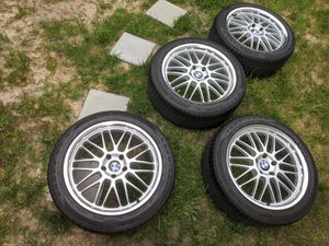 "19"" Beyern Mesh BMW 5x120 Wheels Goodyear Tires for Sale in Laurel, MD"