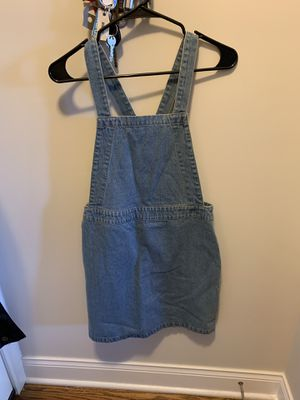 Denim overall dress! for Sale in Chicago, IL