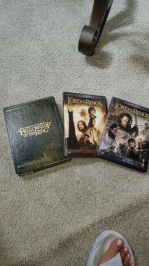 The Lord Of The Rings DVD set for Sale in Rockville, MD