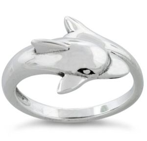 Sterling Silver Dolphin Ring for Sale in Chicago, IL