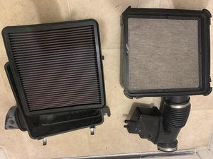 Oem air filter box. And k&n air filter for Sale in Orlando, FL