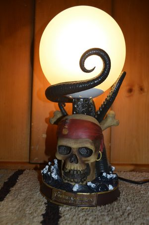 Disney Pirates of the Caribbean: At World's End Lamp for Sale in Fresno, CA