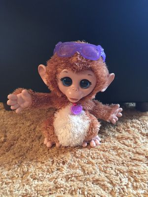 FurReal Friends Baby Cuddles Monkey for Sale in Lombard, IL