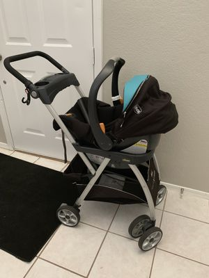 Infant Car seat / caddy - stroller / base for Sale in Goodyear, AZ