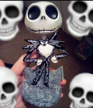 Disney Jack skellington Nightmare Before Christmas statue for Sale in Fresno, CA