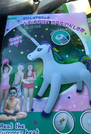 Unicorn sprinkler for Sale in Riverside, CA