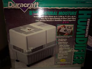 Dure raft Humidifier for Sale in South Williamsport, PA