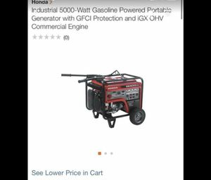 Honda generator for Sale in Oceanside, CA