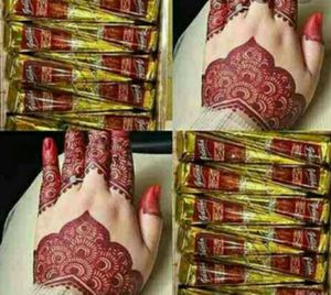 5 Maroon Red Henna Cones for Sale in Parsippany, NJ