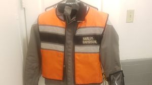 Harley Davidson riding jacket with shoulder and elbow pads for Sale in Orlando, FL