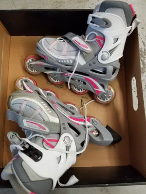 Women's, girl's roller blades, like new, toys, skates, sports, kids for Sale in Tampa, FL