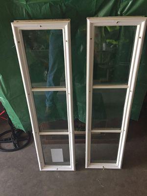 "2- Door Unit Side Lites- 8""x 36"" each. for Sale in Naugatuck, CT"