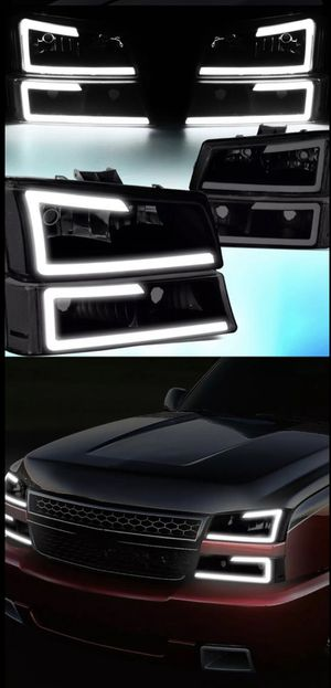 03-06 Chevy Silverado headlights for Sale in Commerce, CA
