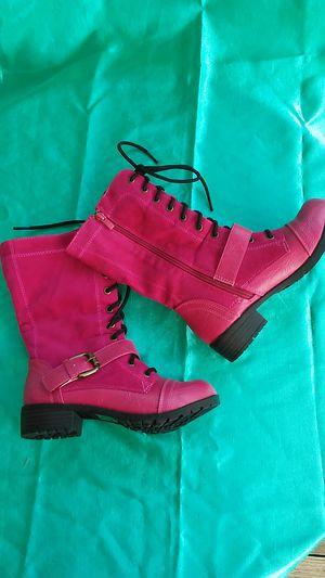 Kali Hot Pink Calf boots sz 6 womens for Sale in Lilburn, GA