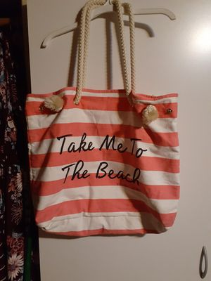Take me to the beach vs tote bag for Sale in Glendale, AZ