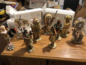 Indian statue collectibles for Sale in Brook Park, OH
