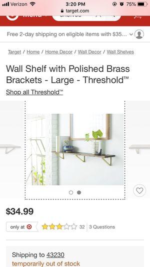 Threshold Bracket Shelf for Sale in Columbus, OH