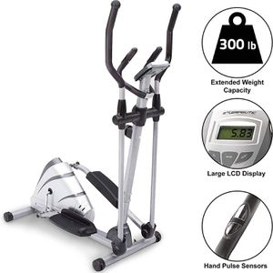 Exerpeutic 1000XL Heavy Duty Magnetic Elliptical with Pulse for Sale in Arlington, VA