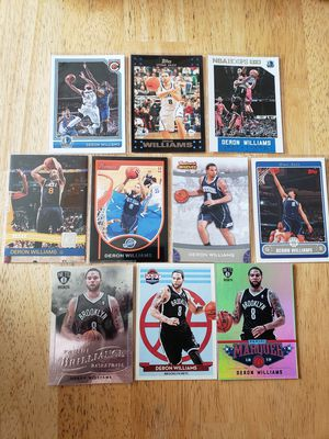 Deron Williams Jazz Nets NBA basketball cards for Sale in Gresham, OR