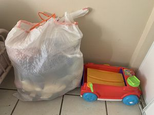 Bag full of toys accepting offers for Sale in Lynwood, CA