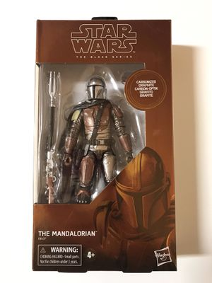 Star Wars Black Series Carbonized Mandalorian for trade or sale for Sale in Springfield, VA