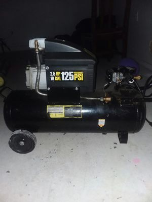 Light compressor 10 gallons in good condition for Sale in Columbus, OH