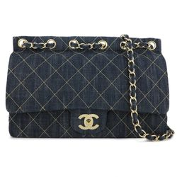 Chanel Denim Quilted Jumbo Single Flap Bag for Sale in Vancouver,  WA