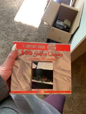100 golden classics discs for Sale in Auburn, WA