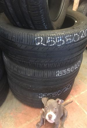 255-50-20 Michelin for Sale in Fort McDowell, AZ
