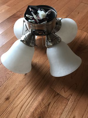 Hamilton Bay Fan light set and unknown light fixture for Sale in Vienna, VA