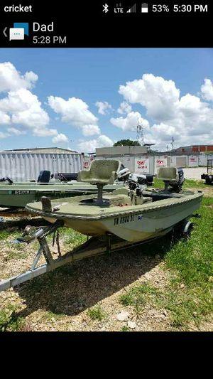 Adtro glass bass boat for Sale in Columbia, TN