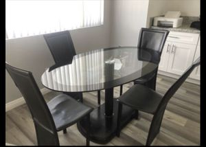 Black dining room set for Sale in Cherry Valley, CA